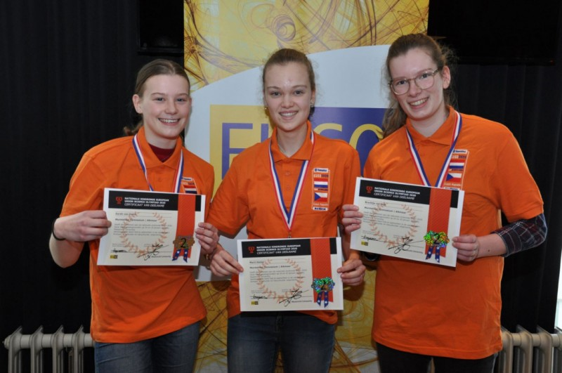 2020.27.01_02 - Gymnasium Bernrode wint Nationale EUSO 2020